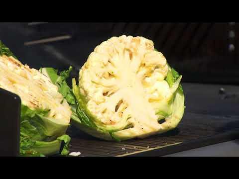 The Garden Gurus Cauliflower with Miso Dressing