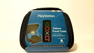 PlayStation Deluxe Travel Case For DualShock 4 Controller Unboxing / In Use