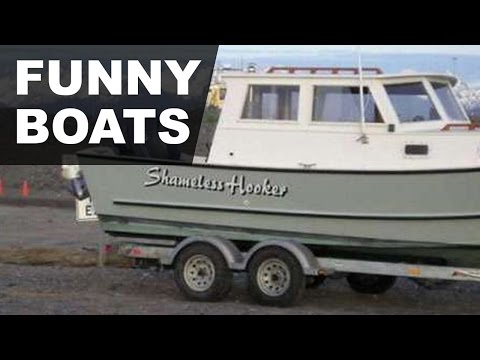 🔴 Top Funny Boat Names That'll Get a Hull of a Lot of Laughs 🔴
