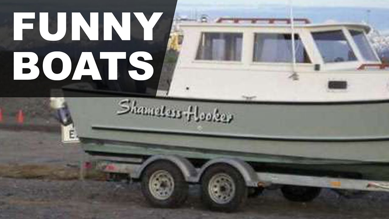 Top funny boat names that 39 ll get a hull of a lot of laughs for Funny fishing team names
