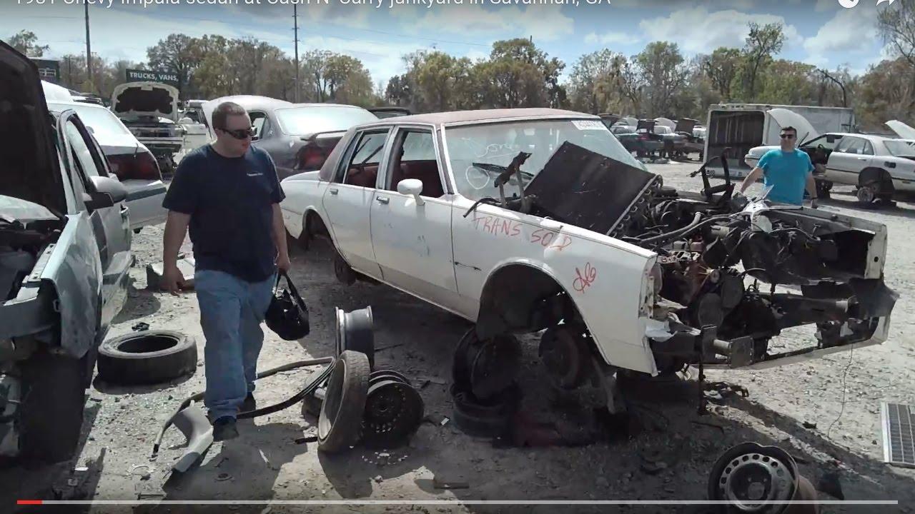 1981 Chevy Impala Sedan At Cash N Carry Junkyard In Savannah Ga