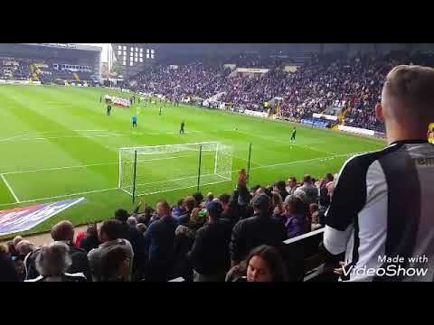 Notts County 4-1 Lincoln City at Meadow Lane 23rd September 2017