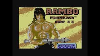 Rambo: First Blood Part II (C64 Loading Screen)