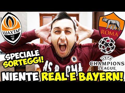 GODO COME UN MAIALE: Shakhtar Donetsk-ROMA | JUVENTUS-Tottenham [Sorteggi Champions League]