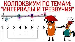 50 урок: «Коллоквиум по темам: «ИНТЕРВАЛЫ И ТРЕЗВУЧИЯ» Курс «PUZZLE PIANO».
