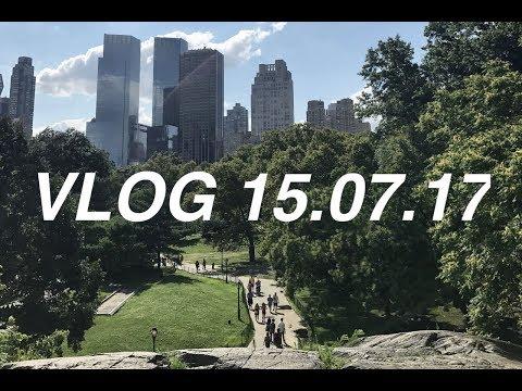 VLOG 15.07.17 Library + Central Park