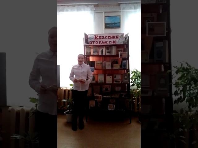 Изображение предпросмотра прочтения – обоянская центральнаядетская библиотека читает произведение «Зимнее утро» А.С.Пушкина