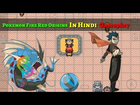 Pokemon Fire Red Origins In Hindi Gyarados's Mega Evolution In Hindi Gameplay