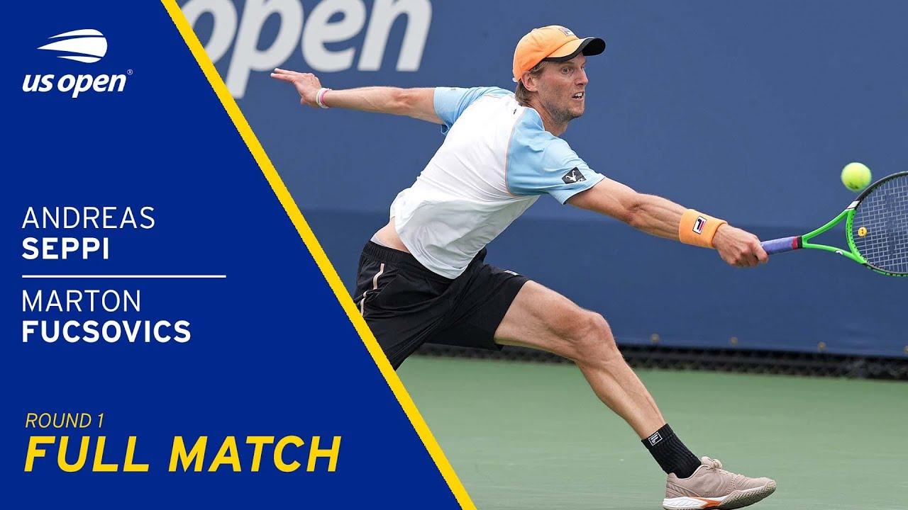 Andreas Seppi vs Marton Fucsovics Full Match | 2021 US Open Round 1