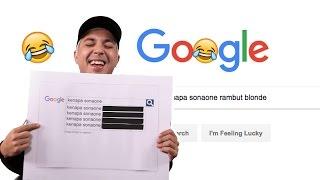 Google Autocomplete Challenge ft. SonaOne