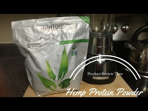 Product Review Time | Hemp Protein Powder | Nutiva