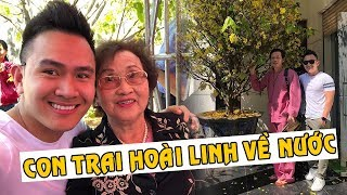 Con trai ruột Hoài Linh về nước sum họp gia đình sau 9 năm sống ở đất Mỹ