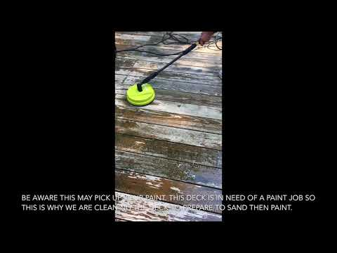 Sun Joe Spx Pca10 10 Inch Brush Attachment Surface Deck Patio