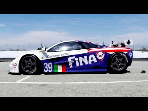 GoPro: The 1996 Le Mans McLaren F1 GTR is Alive!