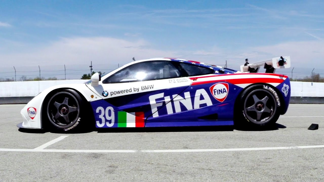 Mid Ohio Sportscar Course >> GoPro: The 1996 Le Mans McLaren F1 GTR is Alive! - YouTube