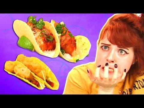 Irish People Taste Test Fish Tacos