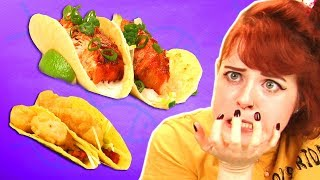 Irish People Taste Test Fish Tacos