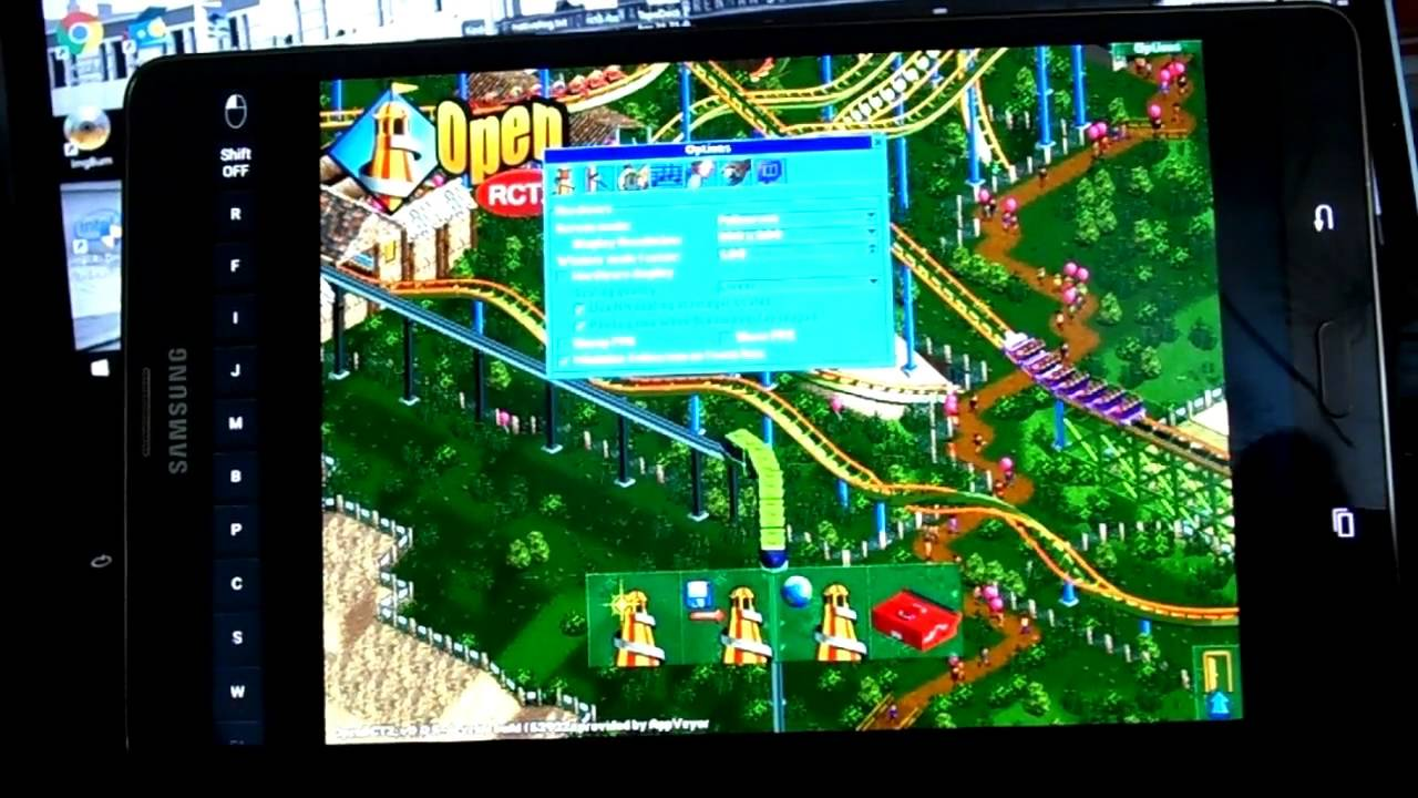 OpenRCT2 0 0 5 + TTP on Android via Exagear