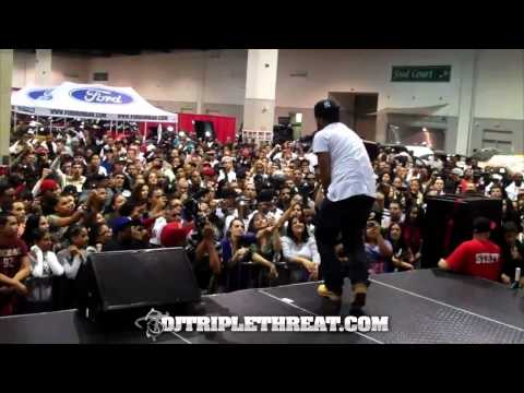 """Lloyd Banks Performs """"Any Girl"""" Live At Funkmaster Flex Car Show"""