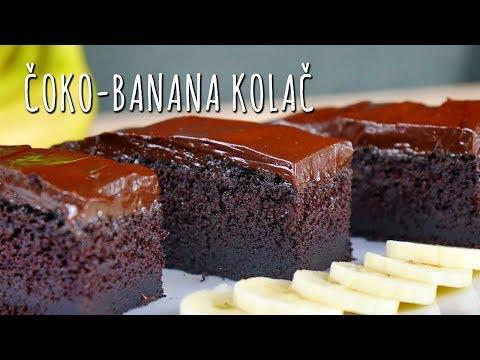 Čoko-banana kolač - Recepti.com