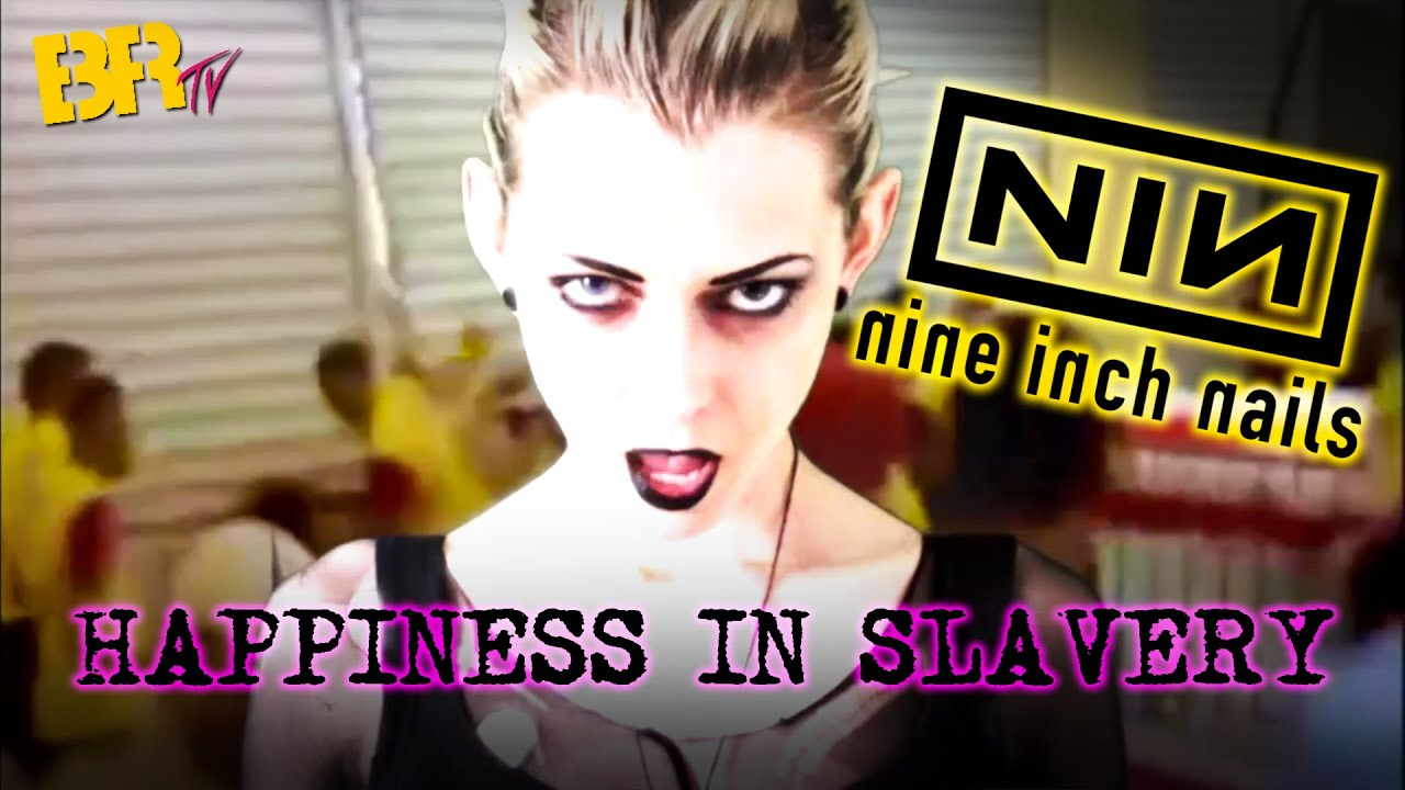 NINE INCH NAILS // HAPPINESS IN SLAVERY - YouTube