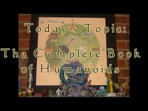 RPG TalksThe Complete Book of Humanoids Review for 2nd Edition Advanced Dungeons & Dragons