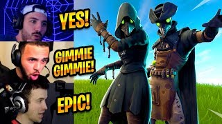 STREAMERS REACT TO *NEW* PLAGUE & SCOURGE SKINS - Fortnite Best Moments #182