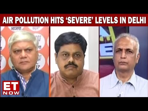 India Development Debate | Breathe India | Air Pollution Hits 'Severe' Levels In Delhi