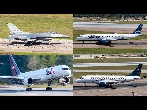 50+ MINUTES of Plane Spotting at Burlington Airport (BTV, KBTV)