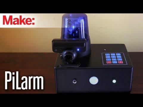 PiLarm: Portable Raspberry Pi Room Alarm