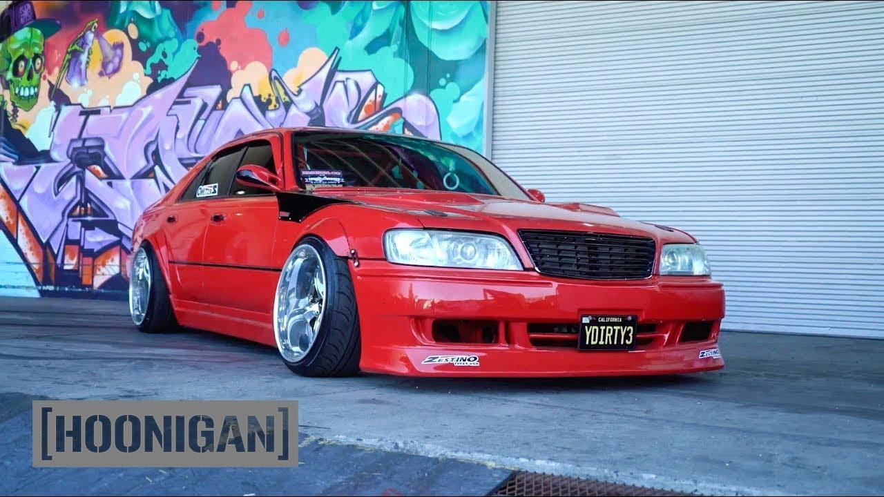 [HOONIGAN] DT 071: Infiniti Q45 VIP Drift Sedan - YouTube