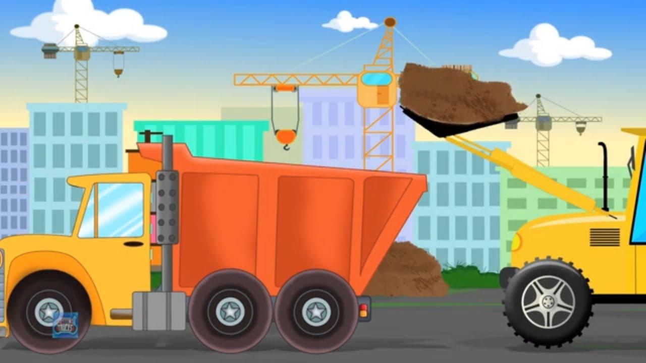 Dump Truck | Formation & Uses | Street Vehicles | Car & Trucks for Children | Kids Car Cartoons