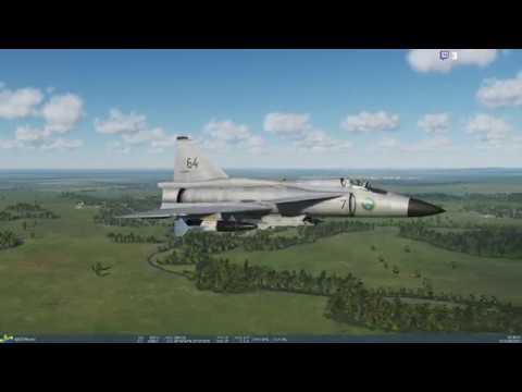 DCS World 2.5(Beta) - Various Aircraft SP practice session