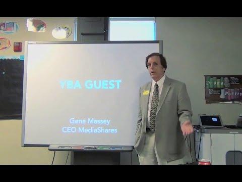 Gene Massey Speaks for Youth Business Alliance on 3-23-15