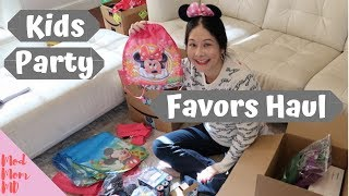 Kids Party Ideas & Favors Haul | Minnie Mouse & Laser Tag Parties | Modmom Md