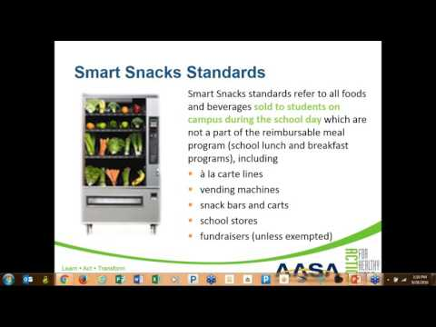AFHK Smart Ideas to Implement Smart Snacks in Schools