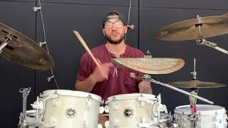 NDG Music School - JMP Drumming Tutorial - Everything's Not Lost (Coldplay)