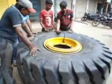 OTR tyre repairing