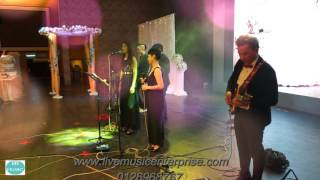 Wedding Live Band on 9-3-2016(from Live Music Entertainment)