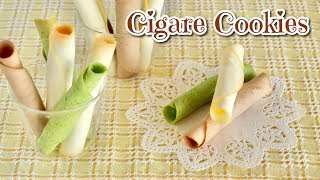 How to Make Cigare Cookies (EASY Only 5 Ingredients!) - OCHIKERON - CREATE EAT HAPPY