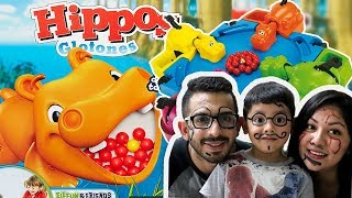Hungry Hippos   Reto con Hippos Glotones y Bolitas de Colores   Juegos Infantiles para niños