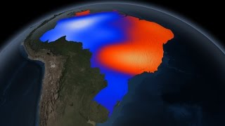 NASA | Brazil's Extreme Drought Seen From Space