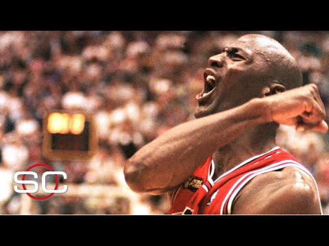 Michael Jordan's crossover move in 1998 NBA Finals highlights top 10 playoff moments   SportsCenter