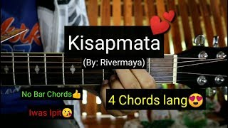 Kisapmata - Rivermaya (Super Easy Chords Guitar Tutorial)