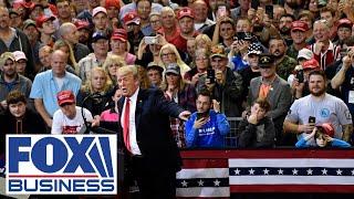Trump hosts a 'Make America Great Again Victory Rally' in Scranton, PA