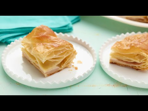 Barefoot Contessa Makes Ham And Cheese In Puff Pastry | Food Network