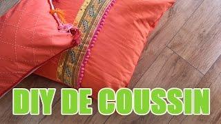 2 idées pour customiser vos coussins - DIY avec youMAKEfashion