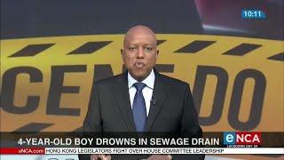 TRAGIC STORY: 4-year-old boy drowns in Sewage drain