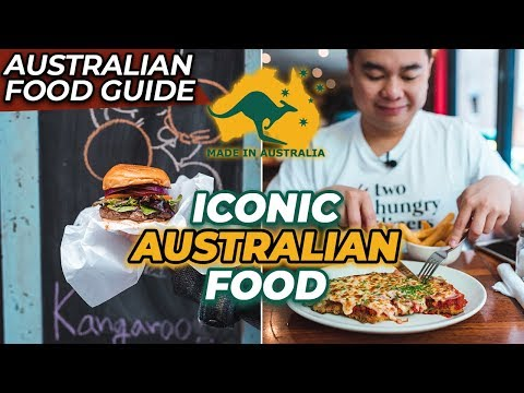 TOP 5 AUSTRALIAN FOOD | Iconic Aussie Dishes and Snacks You Have To Try!