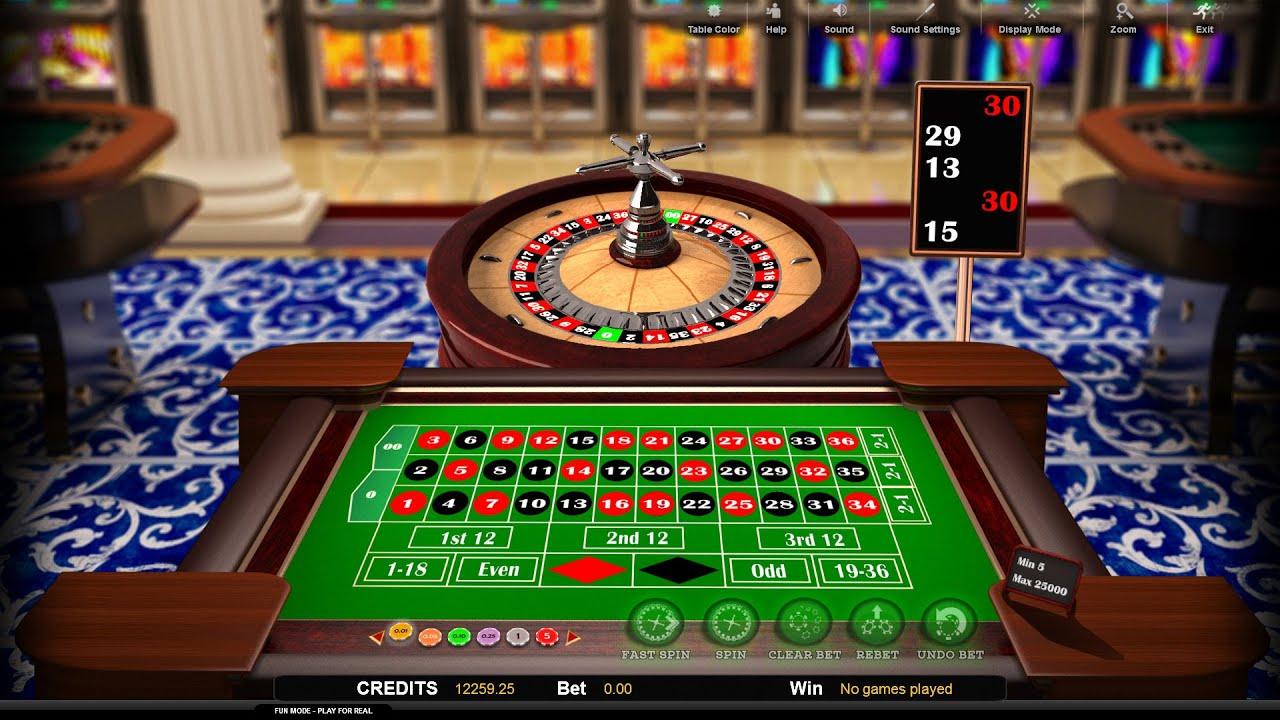 roulette 3d online watch